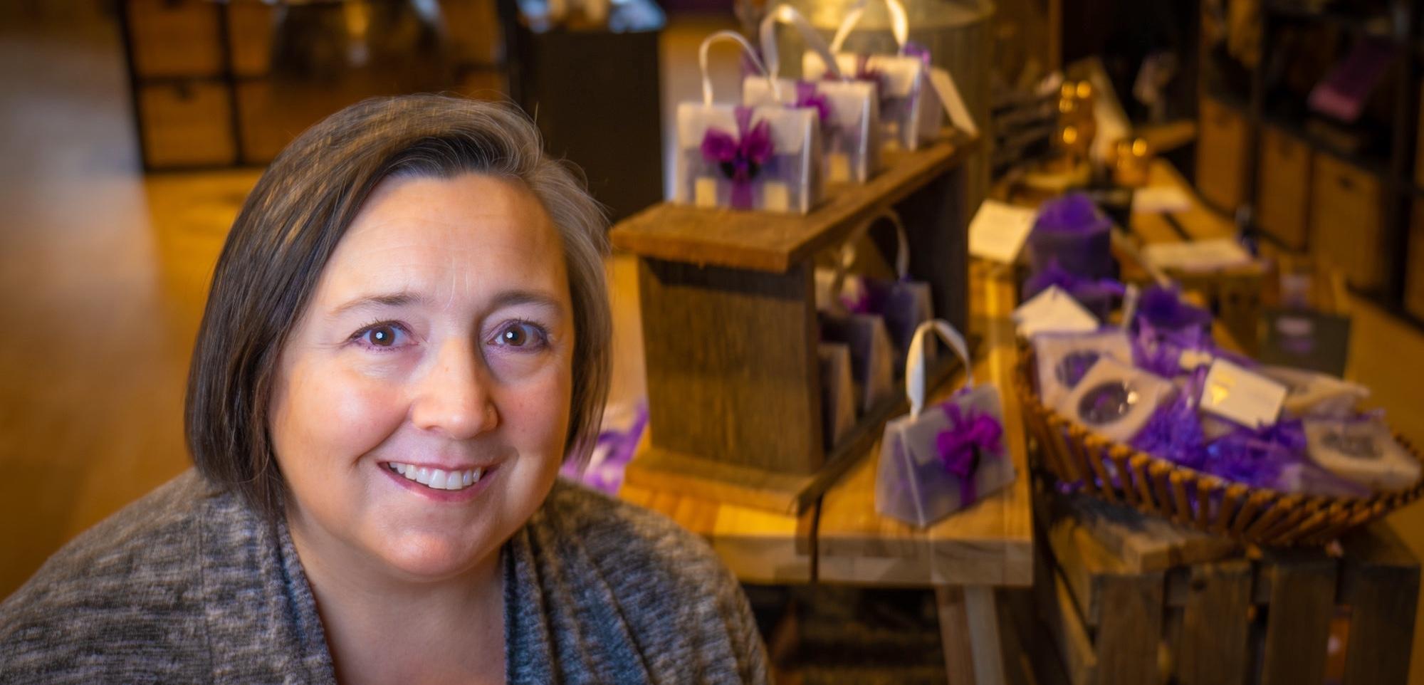 Aimee Hauff from Pelindaba Lavender