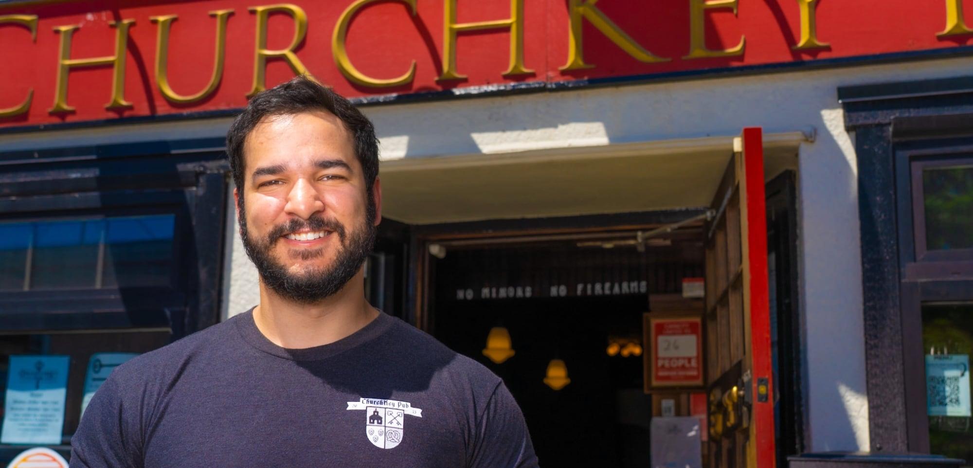 The ChurchKey Pub in Downtown Edmonds